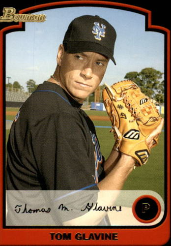 Photo of 2003 Bowman #68 Tom Glavine