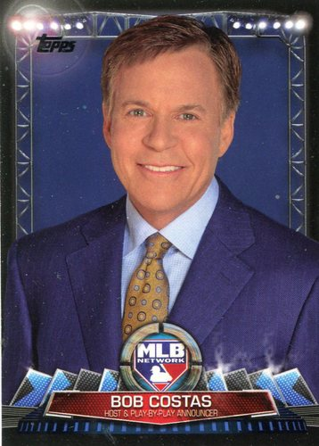 Photo of 2017 Topps MLB Network #MLBN11 Bob Costas