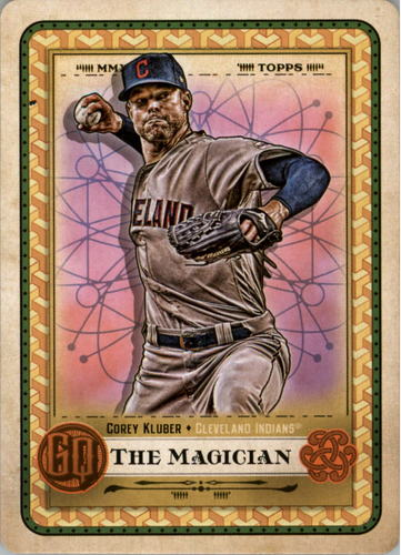 Photo of 2019 Topps Gypsy Queen Tarot of the Diamond #20 Corey Kluber