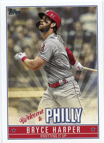 Photo of 2019 Topps Update Bryce Harper Welcome to Philly #BH8 Bryce Harper