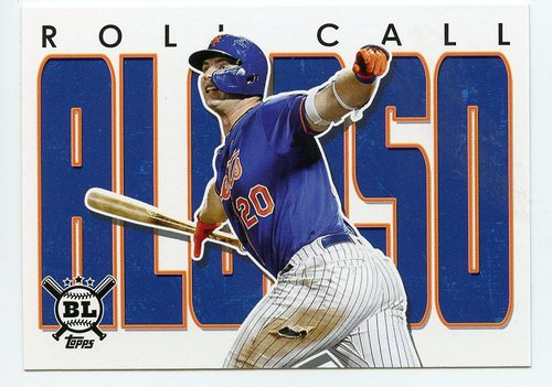 Photo of 2020 Topps Big League Roll Call #RC5 Pete Alonso