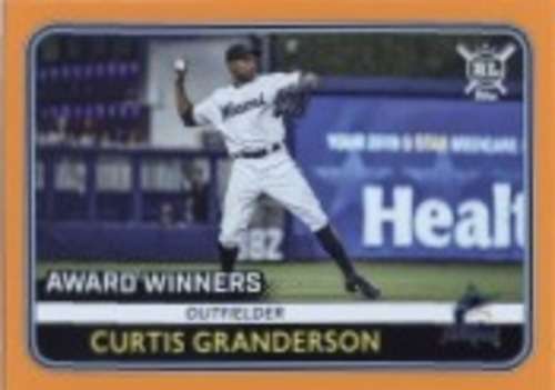 Photo of 2020 Topps Big League Orange #282 Curtis Granderson AW