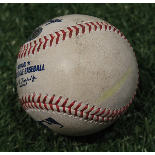 Photo of Game-Used Baseball: Whit Merrifield 53rd Career Home Run (CHC @ KC 8/6/20)