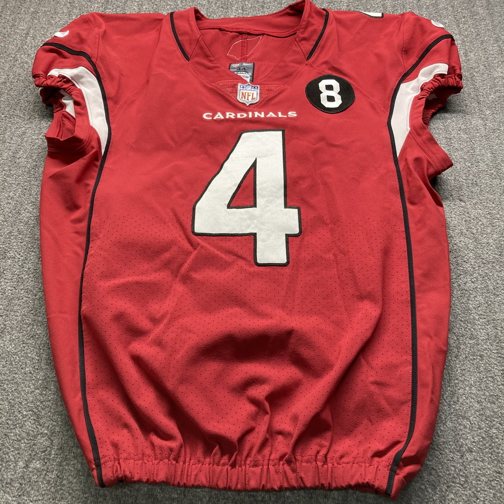 NFL Auction | Crucial Catch - Cardinals Andy Lee Game Used Jersey ...