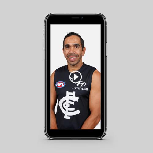 Photo of Personalised Video Message - Eddie Betts