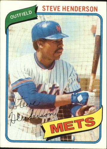 Photo of 1980 Topps #299 Steve Henderson