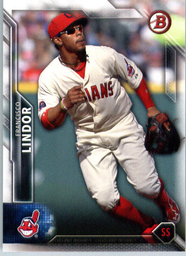 Photo of 2016 Bowman #28 Francisco Lindor