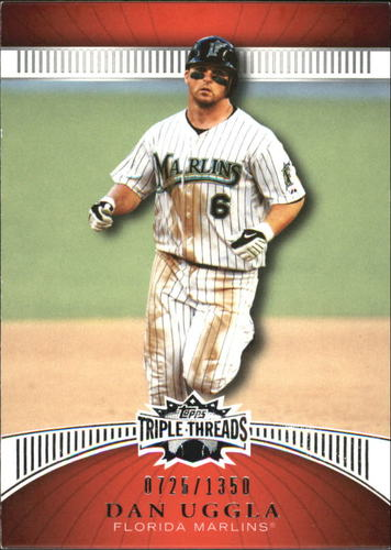 Photo of 2010 Topps Triple Threads #102 Dan Uggla