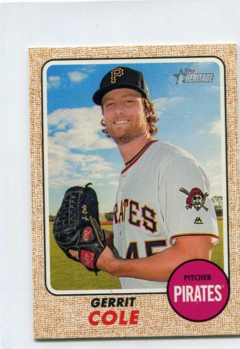 Photo of 2017 Topps Heritage Mini #70 Gerrit Cole