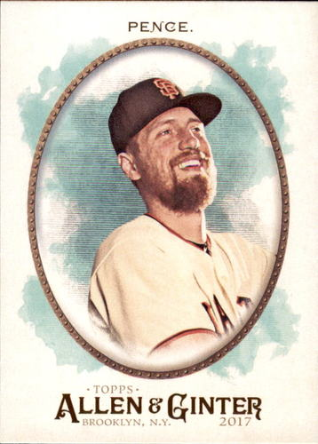 Photo of 2017 Topps Allen and Ginter #254 Hunter Pence