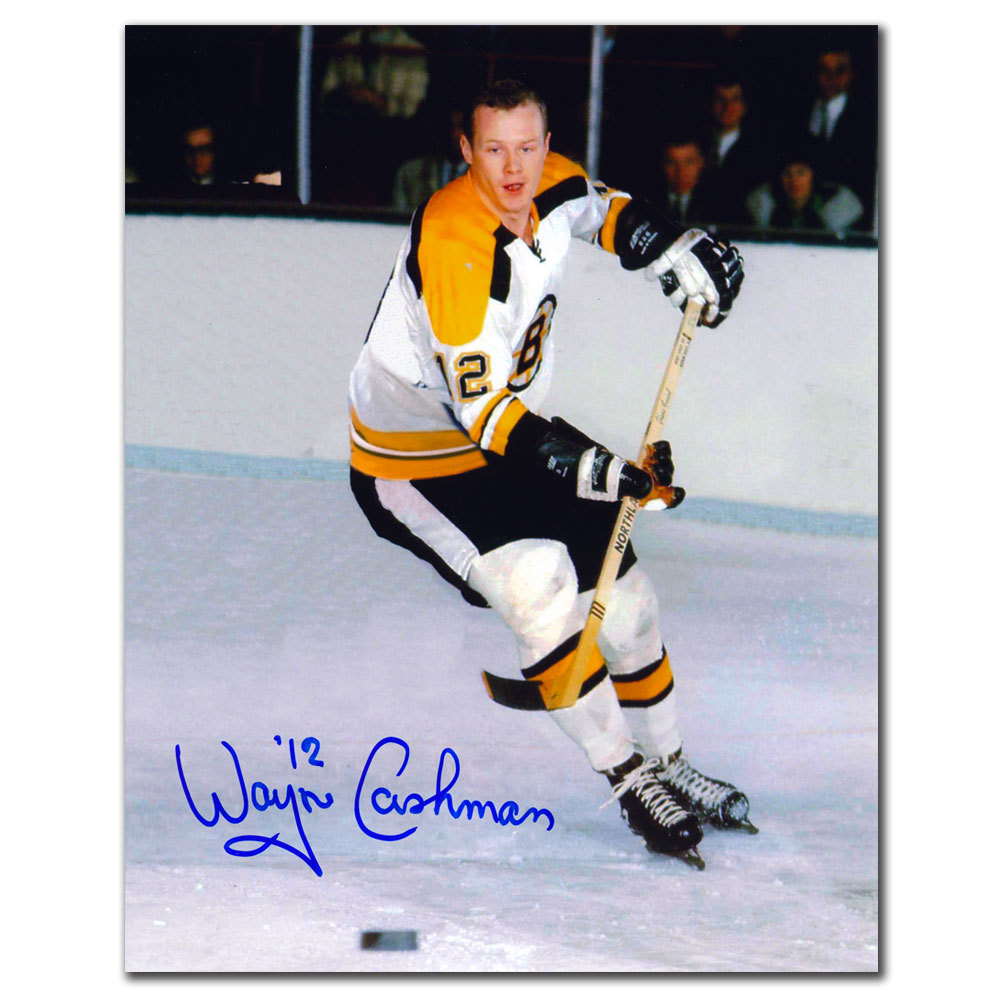 Wayne Cashman Boston Bruins RUSH Autographed 8x10