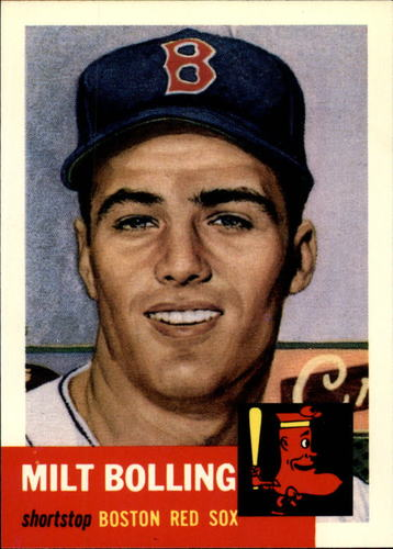 Photo of 1991 Topps Archives 1953 #280 Milt Bolling