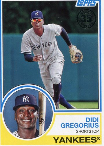 Photo of 2018 Topps '83 Topps #8372 Didi Gregorius
