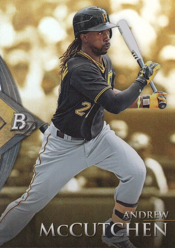 Photo of 2014 Bowman Platinum Gold #3 Andrew McCutchen