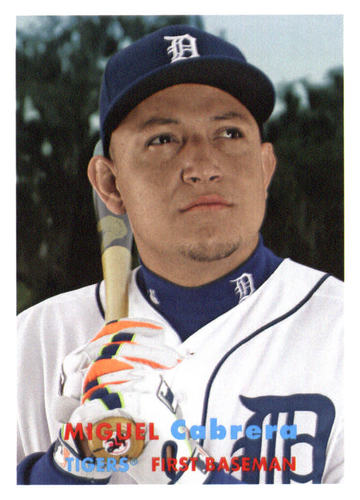 Photo of 2015 Topps Archives #100 Miguel Cabrera