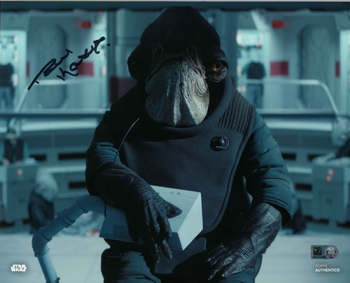 PREORDER Paul Kasey As Admiral Raddus 8x10 Autographed in Black Ink