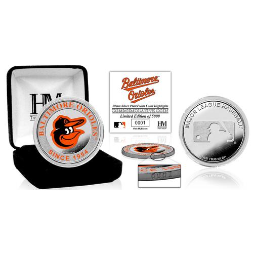 Photo of Serial #1! Baltimore Orioles Silver Color Coin