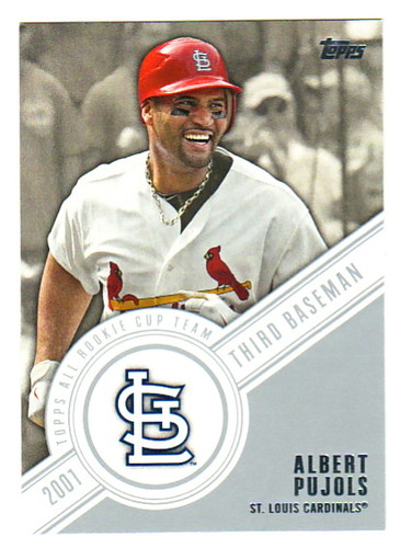 Photo of 2014 Topps All Rookie Cup #RCT4 Albert Pujols