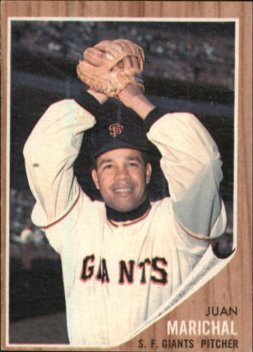 Photo of 1962 Topps #505 Juan Marichal