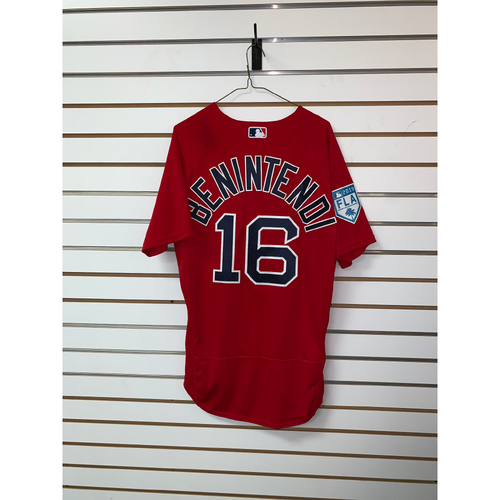 Andrew Benintendi Team Issued 2019 Spring Training Jersey