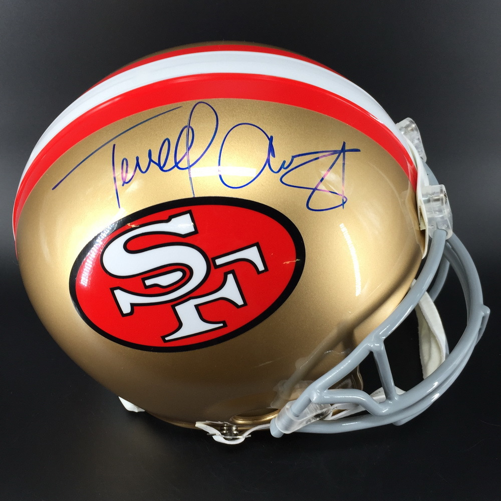 new product 882f7 f8cf5 NFL Auction | PCC - 49ers Terrell Owens Signed Authentic ...