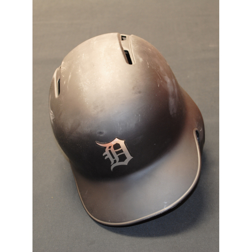 Photo of Travis Demeritte Detroit Tigers Game-Used 2019 Players' Weekend Helmet