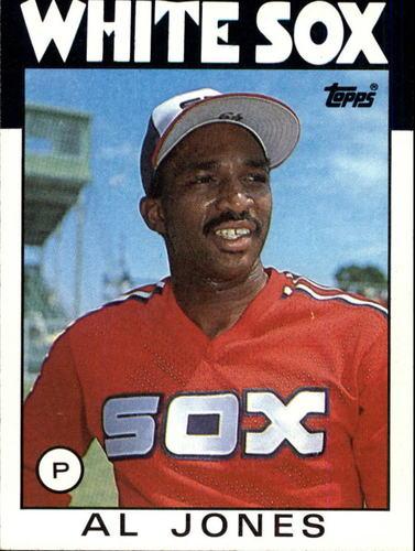 Photo of 1986 Topps #227 Al Jones