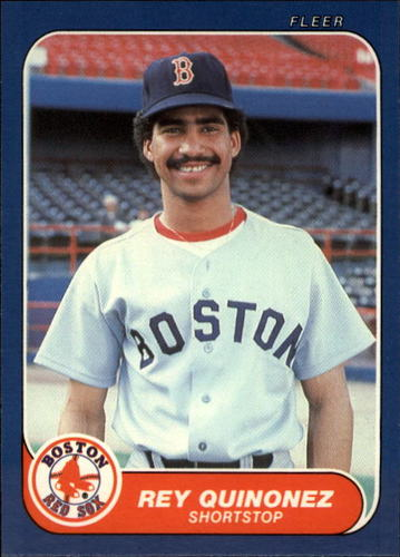 Photo of 1986 Fleer Update #93 Rey Quinones UER/(Misspelled Quinonez)