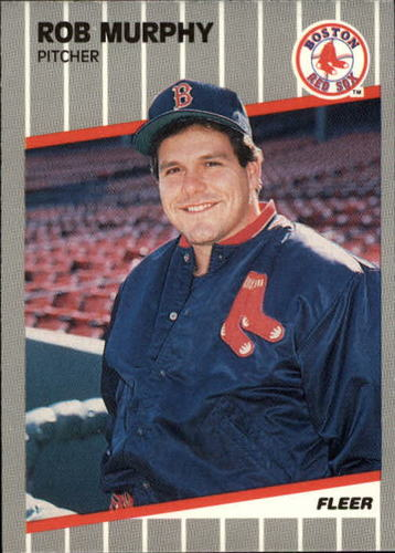 Photo of 1989 Fleer Update #10 Rob Murphy