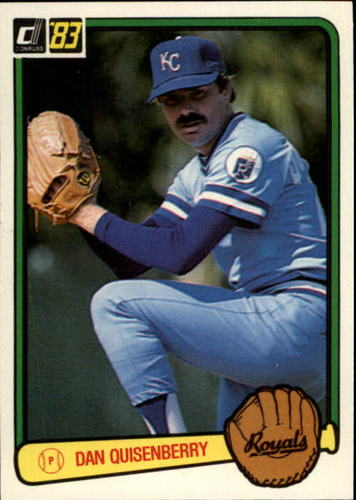 Photo of 1983 Donruss #70 Dan Quisenberry