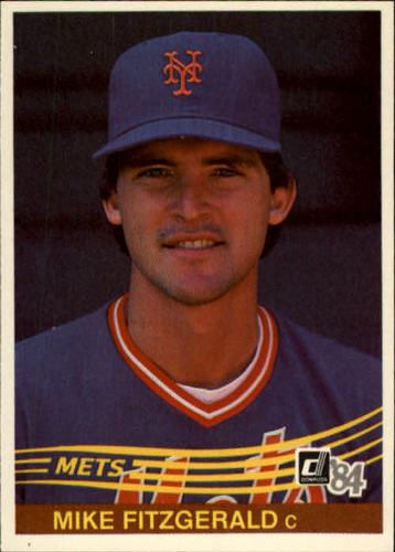 Photo of 1984 Donruss #482 Mike Fitzgerald