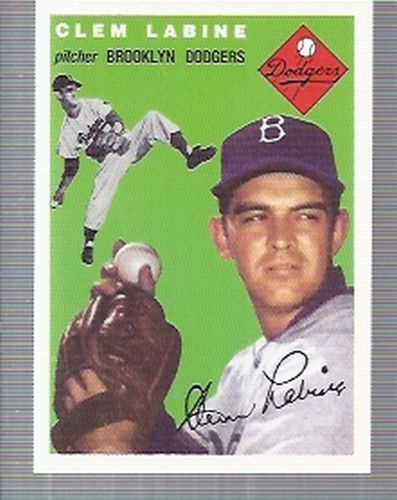 Photo of 1994 Topps Archives '54 #121 Clem Labine