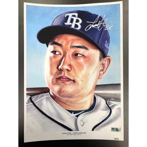 Photo of Autographed Print (13/23): Ji-Man Choi