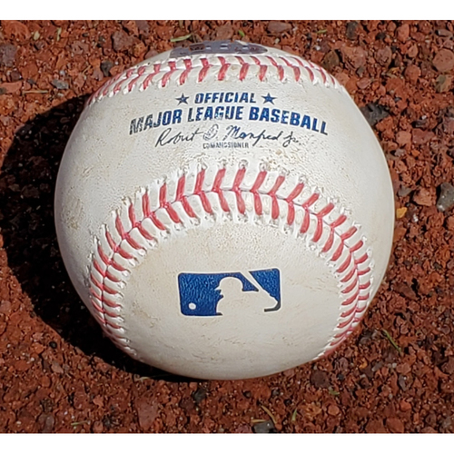 Photo of 2020 Phillies Game-Used Baseball - JT Realmuto Multi HR Game (HR #2)