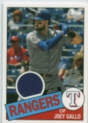 Photo of 2020 Topps '85 Topps Relics #85TRJG Joey Gallo