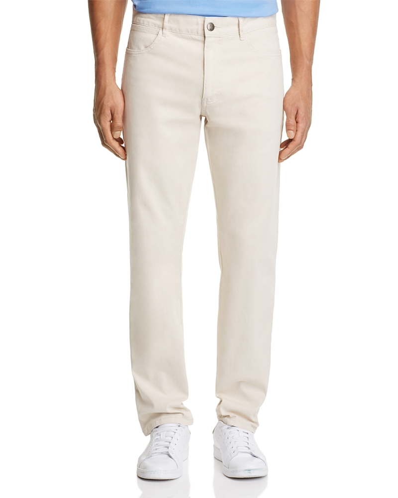 Photo of Johnnie-o Stretch Cotton Five Pocket Regular Fit Pants