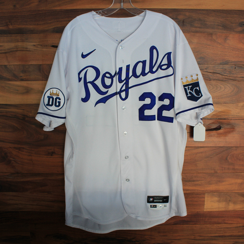 Photo of Game-Used 2020 Jersey: Mike Matheny #22 (DET @ KC 9/27/20) - Size 48
