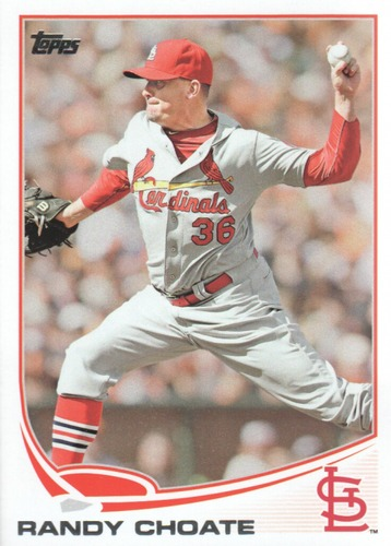 Photo of 2013 Topps Update #US152 Randy Choate