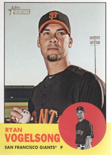 Photo of 2012 Topps Heritage #235 Ryan Vogelsong