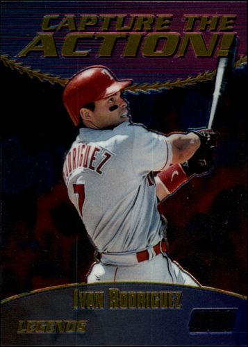 Photo of 2000 Stadium Club Chrome Capture the Action #CA16 Ivan Rodriguez