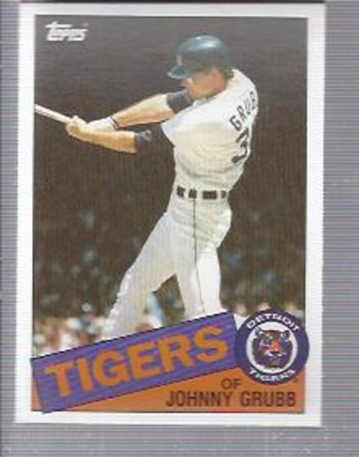 Photo of 1985 Topps #643 Johnny Grubb