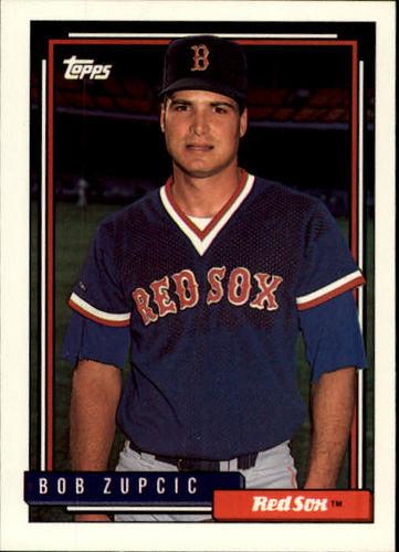 Photo of 1992 Topps #377 Bob Zupcic RC