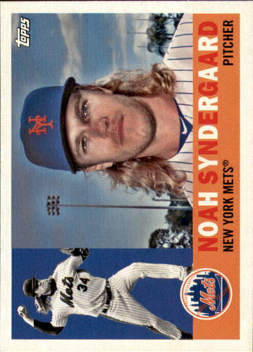Photo of 2017 Topps Archives #64 Noah Syndergaard