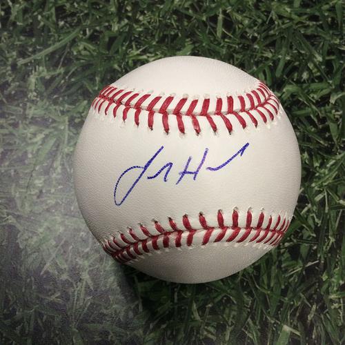 Josh Hader Autographed Baseball
