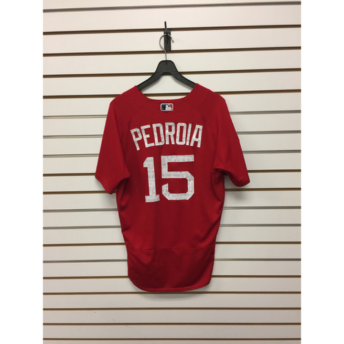 Dustin Pedroia Team-Issued 2017 Spring Training Jersey