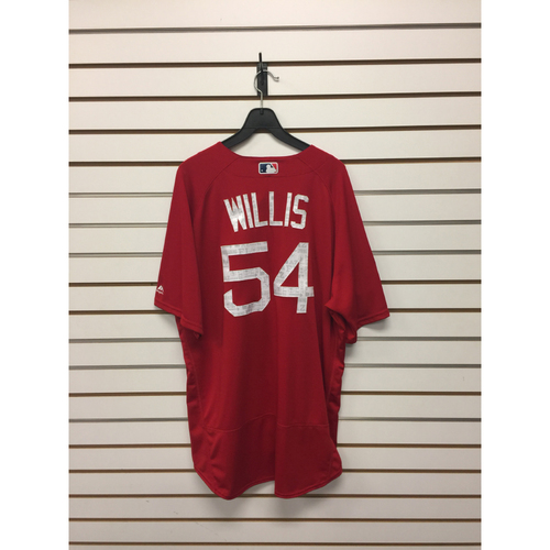 Carl Willis Team-Issued Spring Training Jersey