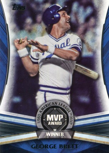 Photo of 2017 Topps Update MVP Award #MVP21 George Brett