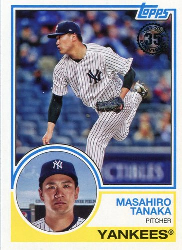 Photo of 2018 Topps '83 Topps #8378 Masahiro Tanaka