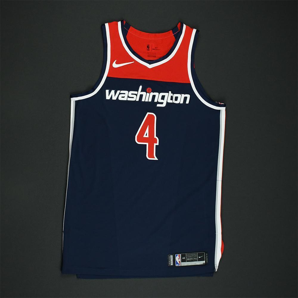 Ty Lawson - Washington Wizards - 2018 NBA Playoffs Game-Worn 'Statement' Jersey
