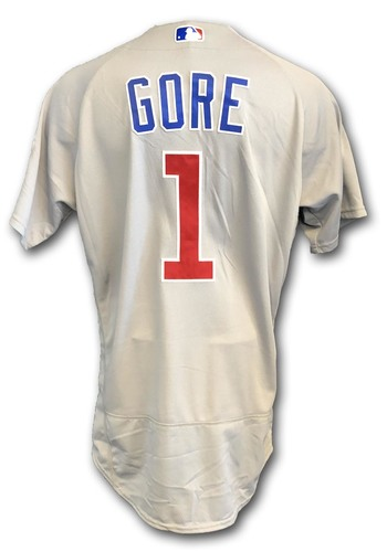 Photo of Terrance Gore Game-Used Jersey -- Cubs at White Sox -- 9/22/18